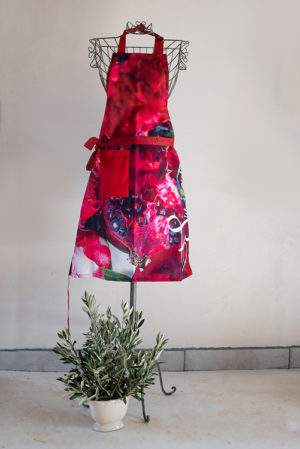 Kids Apron Pomegranate