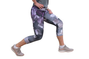 Leggings Purple Rain side