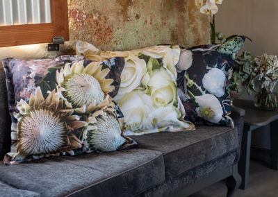 Scatter Cushions in the living room