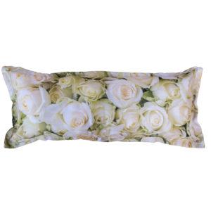 Body Cushion White Lady Rose