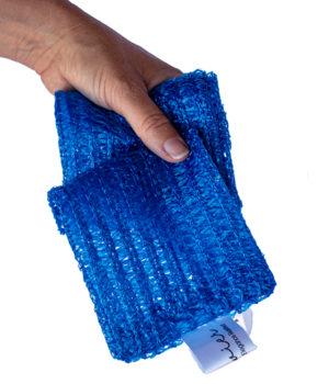 Blue Body scrubber