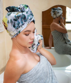 Whisper Head Turban Towel Cloth