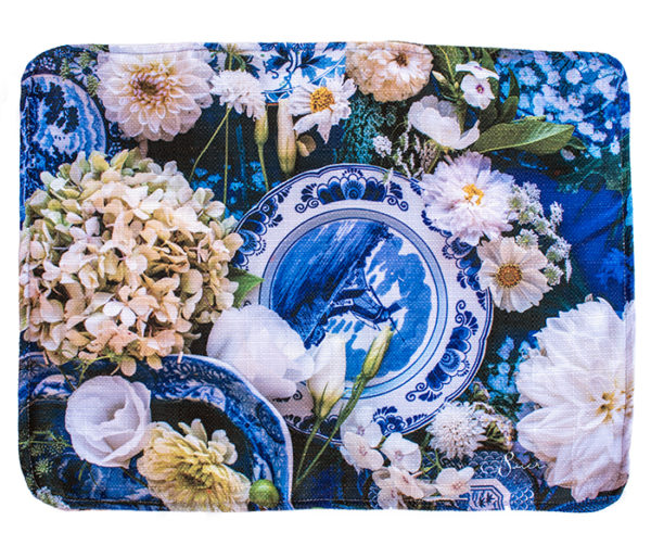 Placemat Alexis and Flower Delft
