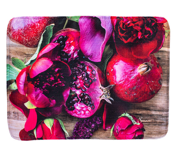 Placemat Luxurious Rose and Pomegranate