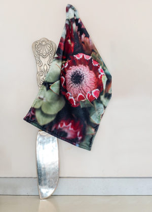 Kitchen Towel Ruby Red